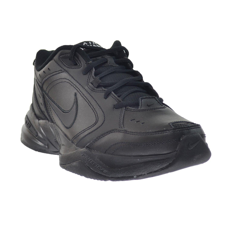 best service 4e846 b3677 Zapatillas de entrenamiento Nike Air Monarch IV para hombre negro   negro  415445-001 (11 D (M) US) -