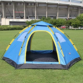 Ashuang Tende da Campeggio all'aperto ultralarge Tende da Campeggio a Doppia Antivento Tende da Campeggio a Doppia Altezza