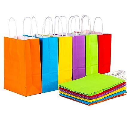 FVCENT 24 piezas de fiesta de papel bolsas de regalo bolsa ...
