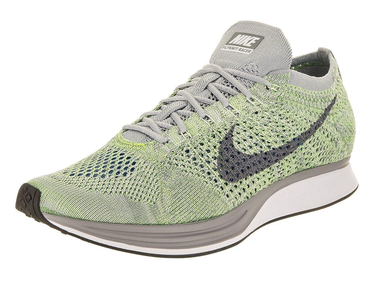 cheaper 81545 edfa0 Amazon.com   Nike Unisex Flyknit Racer Running Shoe 8 Green   Road Running