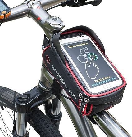 Jeelet Bolsa Bicicleta Cuadro Pantalla Táctil Cremallera ...