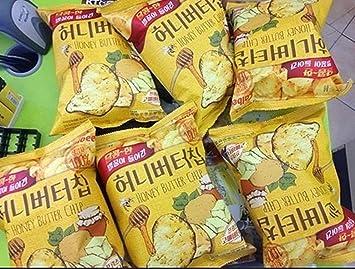 Haitai Miel mantequilla Chip 60 g * 8EA tornillos / Coreano ...
