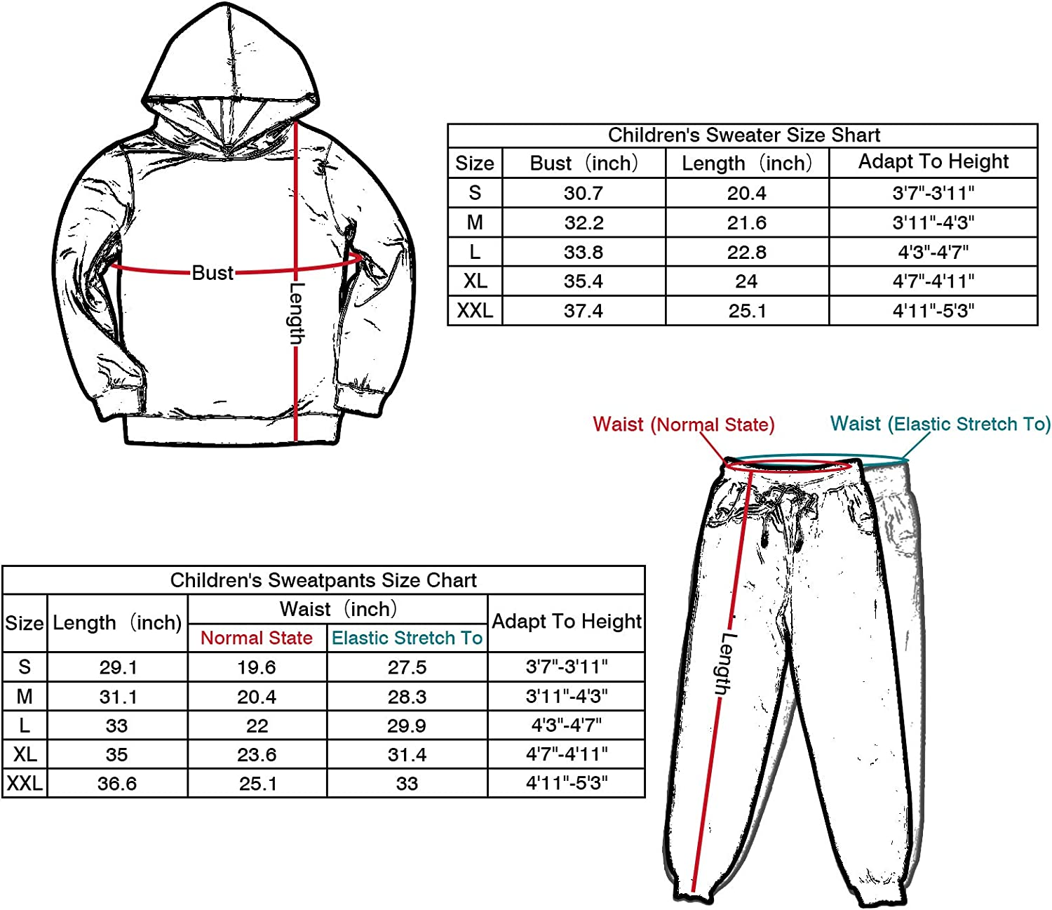 Youth Among Us Imposter Definitely Not Me Pullover Hoodie and Sweatpants Suit 2 Piece Outfit Sweatshirt Set for Boys Girls