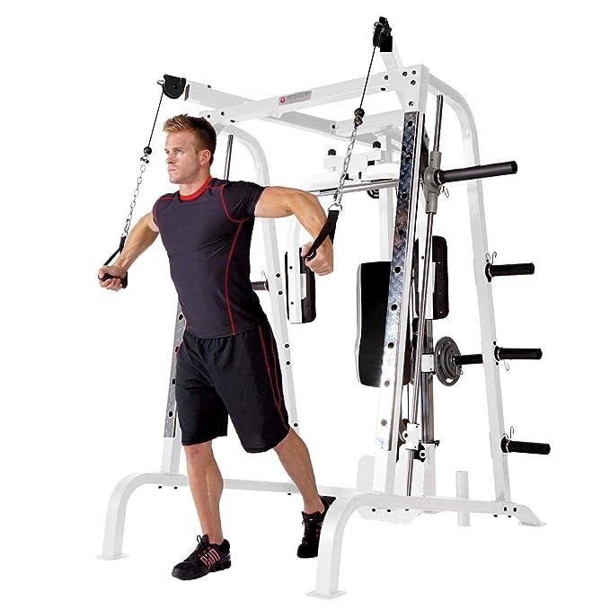 Marcy Diamond Smith jaula máquina de ejercicio total cuerpo sistema de entrenamiento gimnasio en casa: Amazon.es: Deportes y aire libre