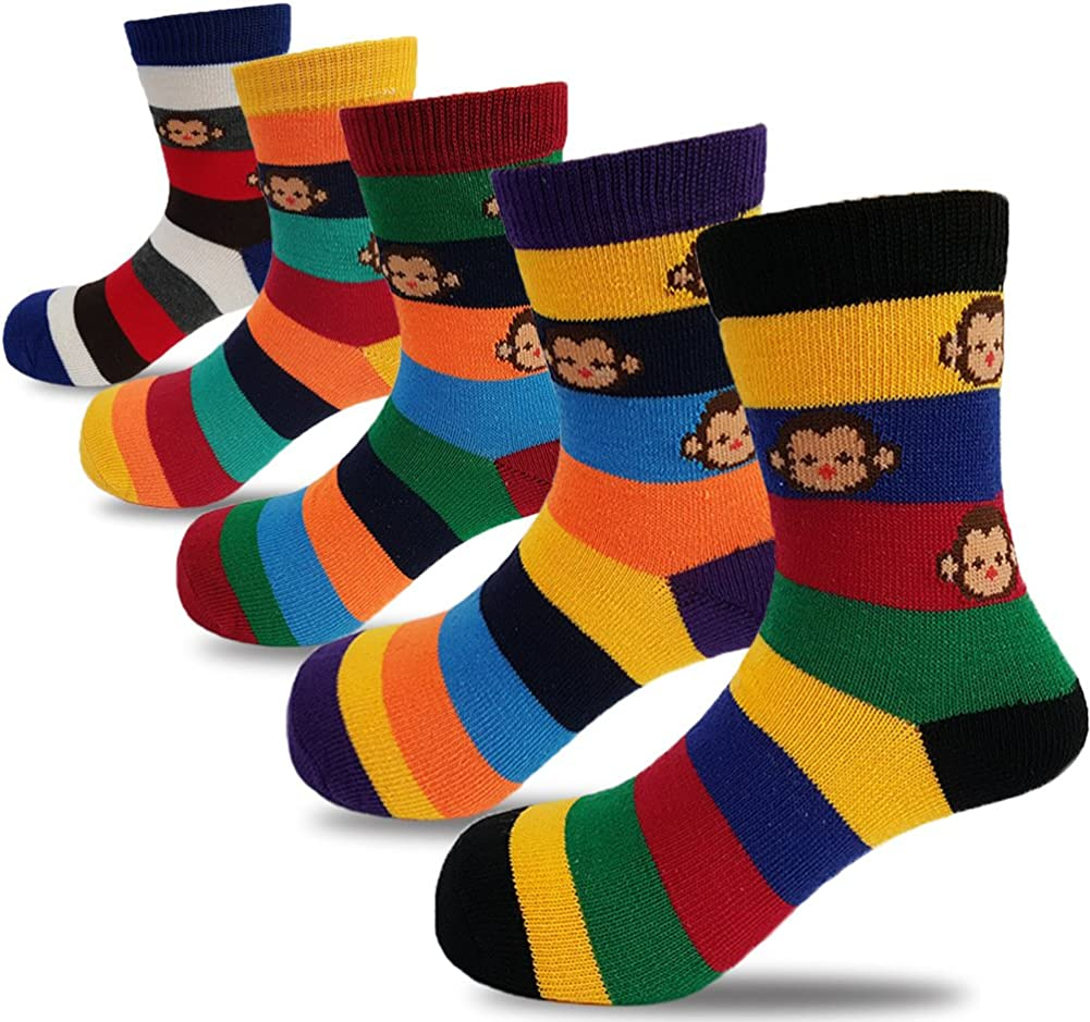 Baby Lounge Baby Boys 6-Pack Crew Socks