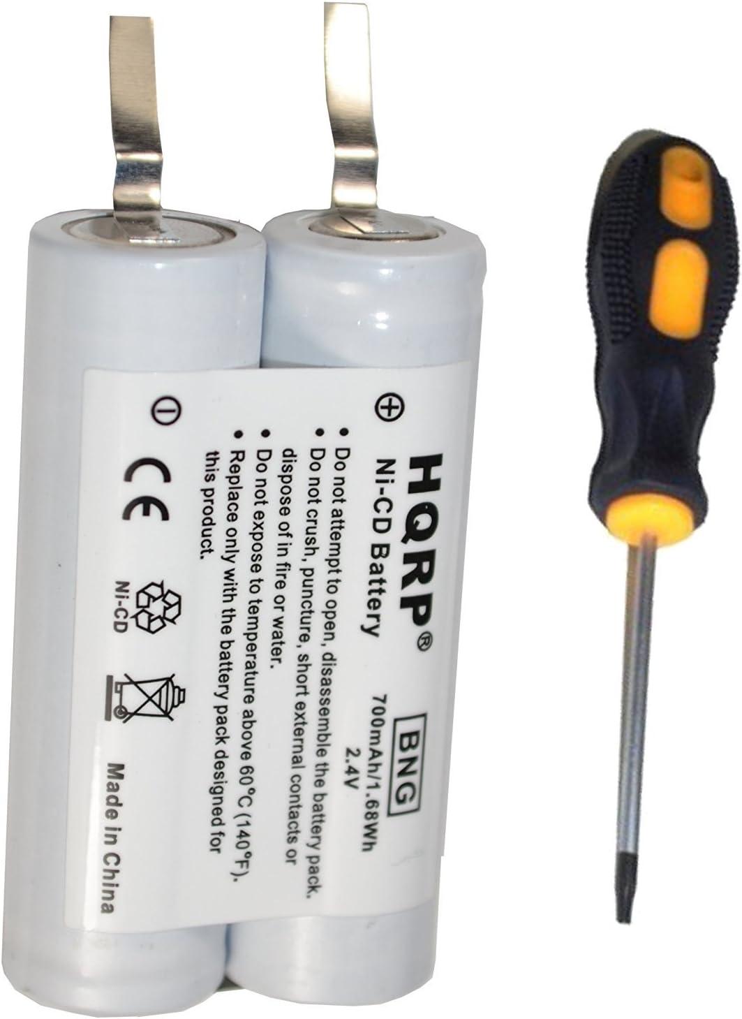 HQRP batería para Philips Norelco 5821 X L, 5822 X L, 5825 X L ...