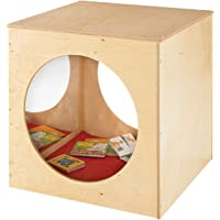 Childcraft 1491056 Reflection Cozy Cube, 30 x 30 Inches Height,30 Inches Width,30 Inches Length,Natural Wood