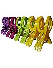 Annas Key 8 Pinzas para Toallas de Playa. Durable Toalla Clips para tumbonas en