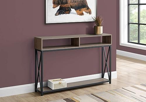 Monarch Specialties Accent Hallway Sofa Black