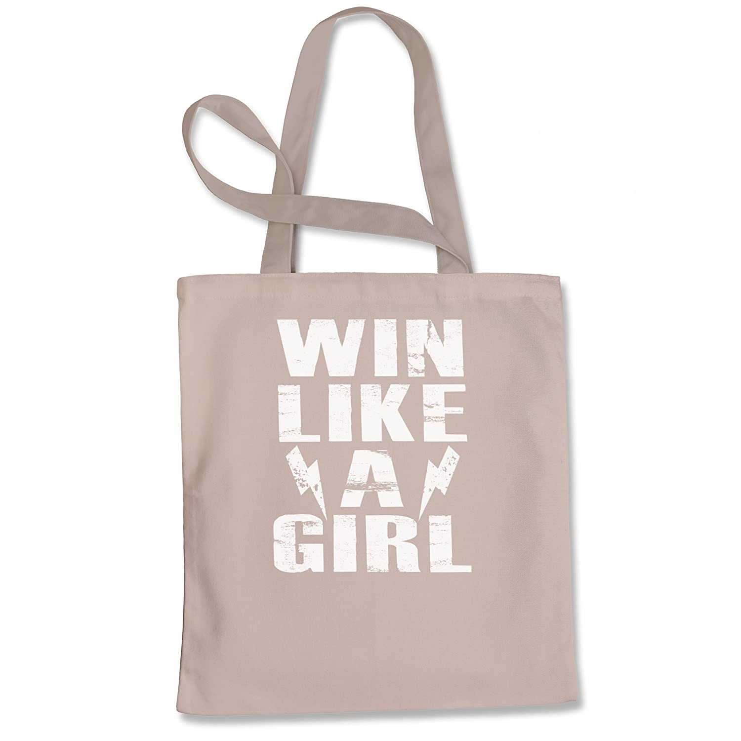 Expression Tees Win Like A Girl Shopping Tote Bag