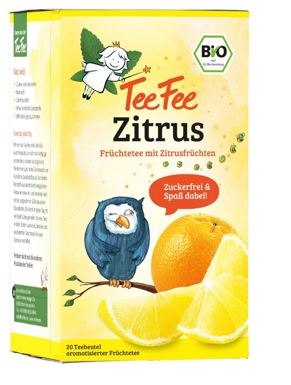 TeeFee Bio Früchtetee mit Erdbeere, 5er Pack (5x20 Teebeutel) | Kindertee | natursüß und vegan | Der Bio Tee für Groß und Klein la marchante GmbH 1251