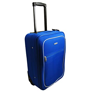 49CM Carry On Board Cabin Travel Hand Luggage Wheeled Bag - Blue ...