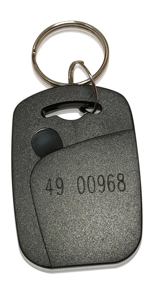 25 Rectangle 26 Bit Proximity Key Fobs Weigand Prox Keyfobs Compatable with ISOProx 1386 1326 H10301 format readers. Works with the vast majority of access control systems