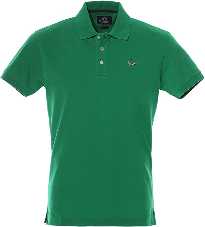 La Martina - Polo - para Hombre Verde Foresta X-Large: Amazon.es ...
