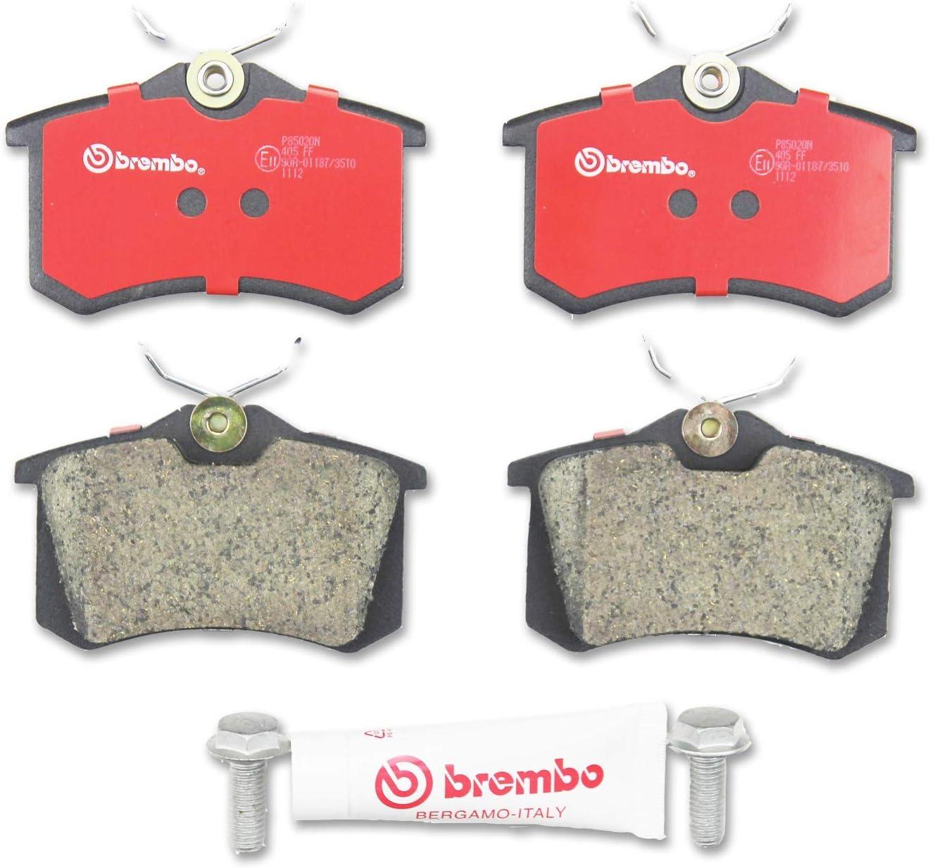 Brembo P 85 020 Juego de pastillas de freno de disco