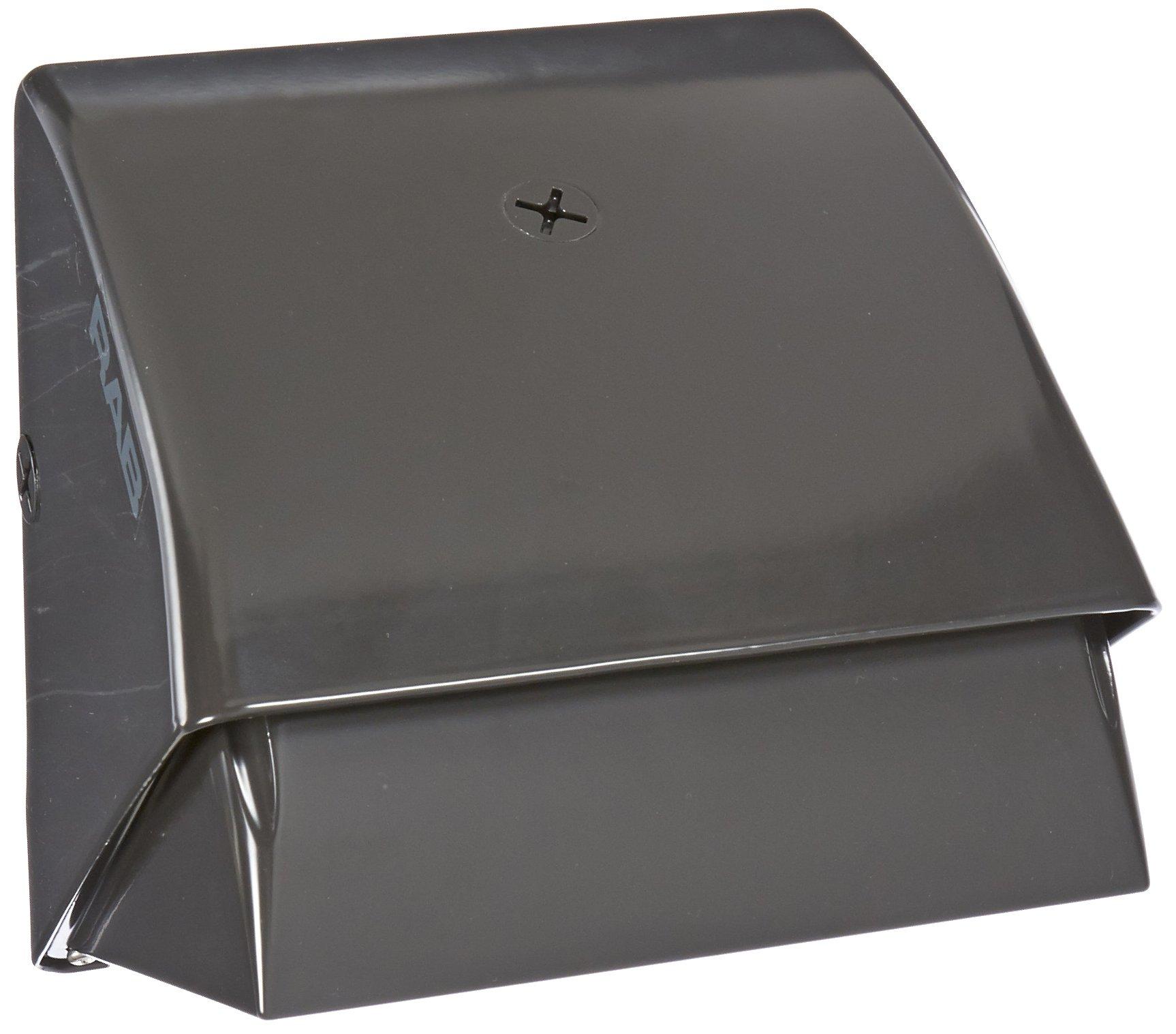 RAB Lighting WP1CSN35 WP1 High Pressure Sodium Wallpack with Cutoff Glare Shield, ED17 Type, Aluminum, 35W Power, 2250 Lumens, 120V, Bronze Color