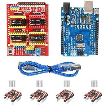 Aokin Kit de controlador de impresora 3D para Arduino RepRap ...