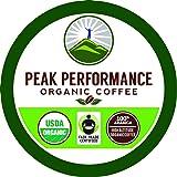 Organic K Cups - Peak Performance High Altitude Organic Coffee Pods. High Performance K Cup Coffee for High Performance…