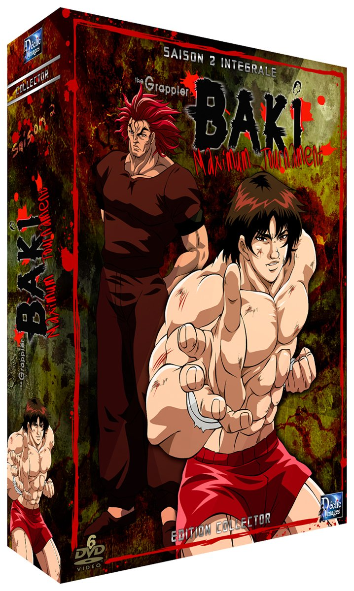 baki the grappler saison 2 vostfr