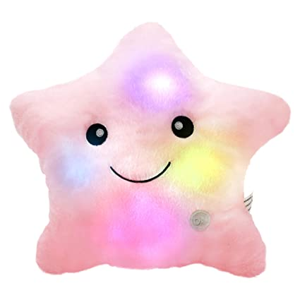 Amazoncom Wewill Creative Twinkle Star Glowing Led Night Light