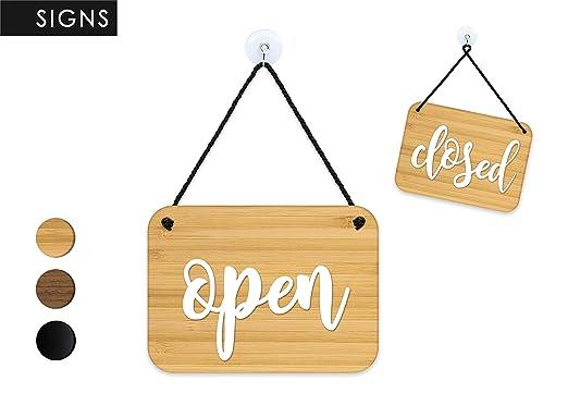 3DP Signs | Shabby Chic - Open Closed - Abierto Cerrado ...