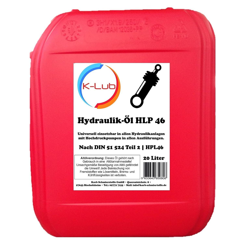 20 litri fluido idraulico HLP 46 | HLP46 ISO