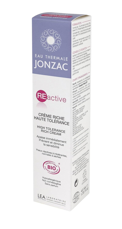 Jonzac Reactive - Crema nutritiva de alta tolerancia (40 ml): Amazon.es: Belleza