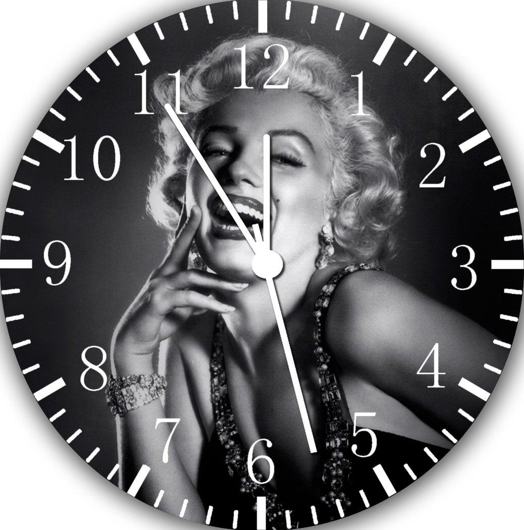 Marilyn Monroe Frameless Borderless Wall Clock E169 Nice For Gift or Room Wall Decor by Frameless Clock (Image #1)