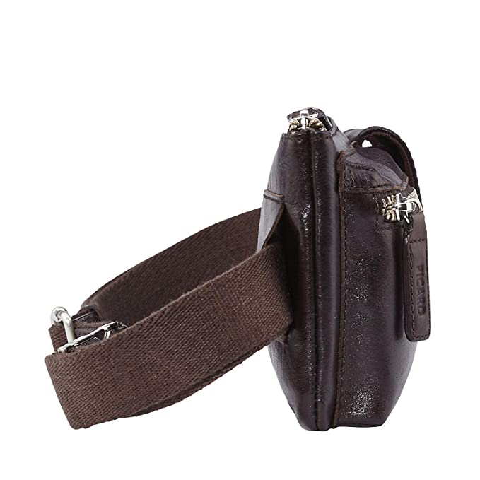 Leder Bauchtasche Gürteltasche Hüfttasche PICARD Damen Herren Tasche Buddy Sporttaschen & Rucksäcke