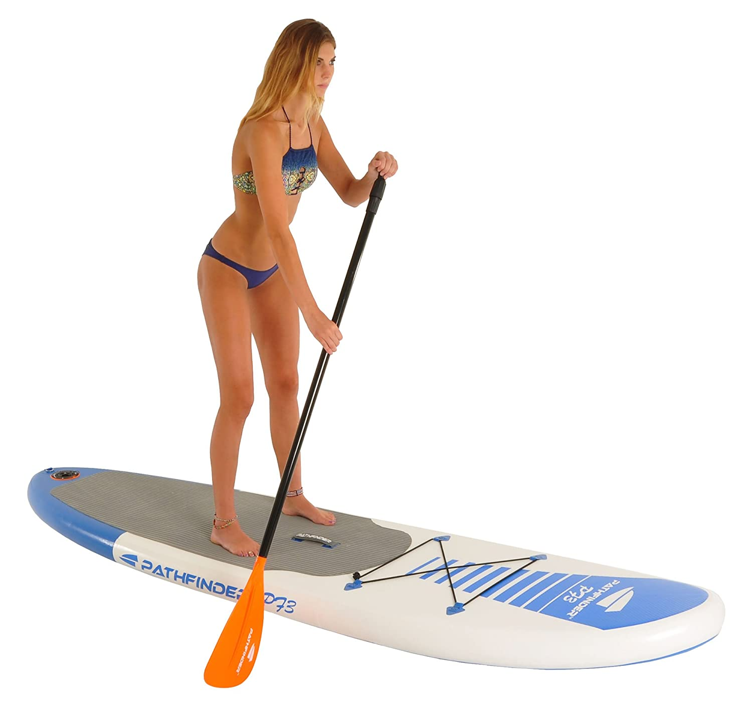 b9d3b9944 Amazon.com   PathFinder Inflatable SUP Stand Up Paddleboard Set 9  9
