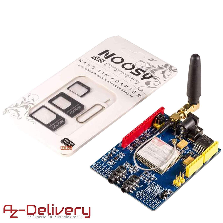 AZDelivery Shield GSM GPRS SIM900 para Arduino con eBOOK GRATIS!