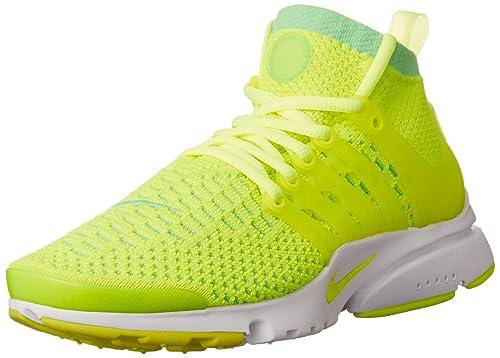 new concept 5db84 f0843 Nike Women s Air Presto Flyknit Ultra Voltage Green Volt Running Shoe 6. 5  Women US  Amazon.in  Shoes   Handbags