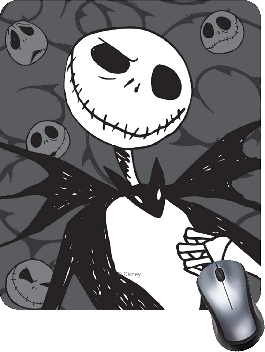 Gaming Computer Mouse Pad with Non-Slip Rubber Base Office /& Home-Jack Skellington Premium-Textured and Waterproof Mousepad Laptop