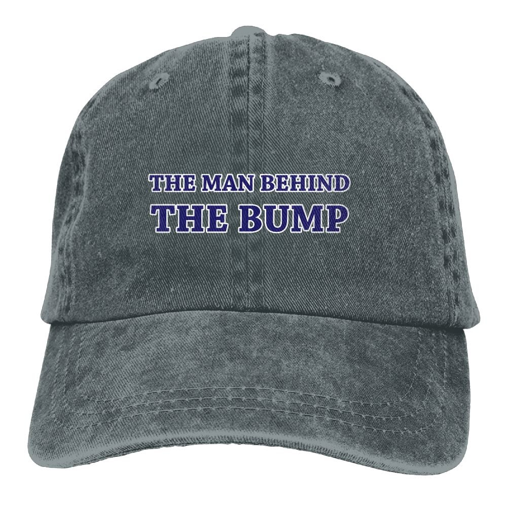 Thirteenkeke The Man Behind The Bump Unisex Denim Bucket Hat Warm Snapback Hat