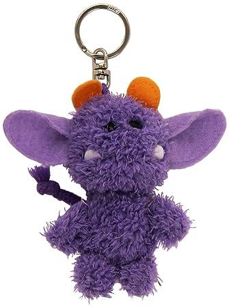NICI Llavero de peluche monstruo, color violeta (34988)