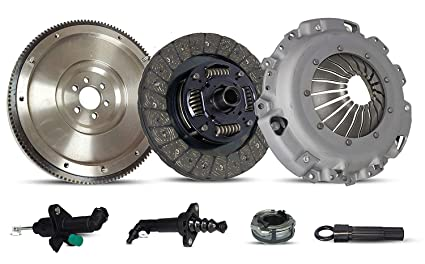 Clutch Flywheel Kit With Master And Slave Cylinder Works With Vw Beetle Golf Jetta Gl Gls