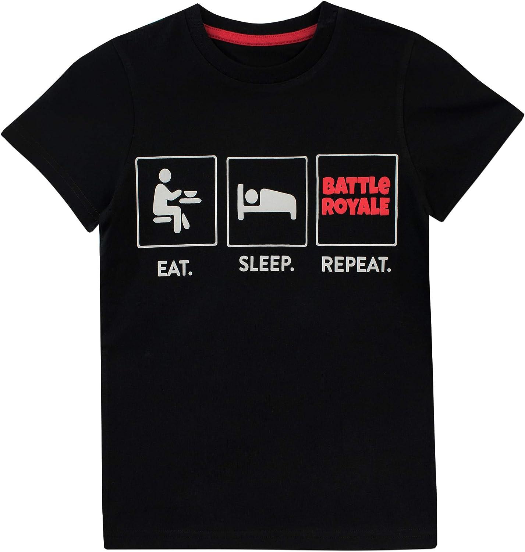 Battle Royale Camiseta para niño Gaming: Amazon.es: Ropa y accesorios