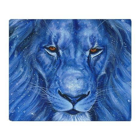 Amazon CafePress Winter Lion Soft Fleece Throw Blanket 40 Impressive Lion Blanket Or Throw