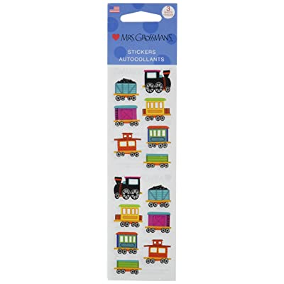 Mrs Grossman Stickers-Chubby Train: Arts, Crafts & Sewing