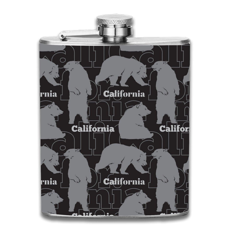 【あす楽対応】 Sho Nuff LiquorヒップフラスコステンレススチールShot Flasks Leak Proofクールギフトfor size Men 7oz one Sho Flasks size California Bears2 B07F72DP7S, スポーツキッド:c17ef26a --- a0267596.xsph.ru