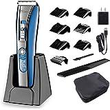Hatteker Hair Trimmer Cordless Hair Clippers For Men Beard Trimmer Haircut Kit USB Rechargeable Best Gift
