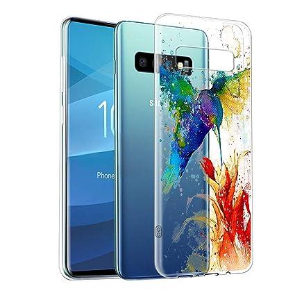 Amazon.com: Carcasa transparente para Samsung Galaxy S10e ...