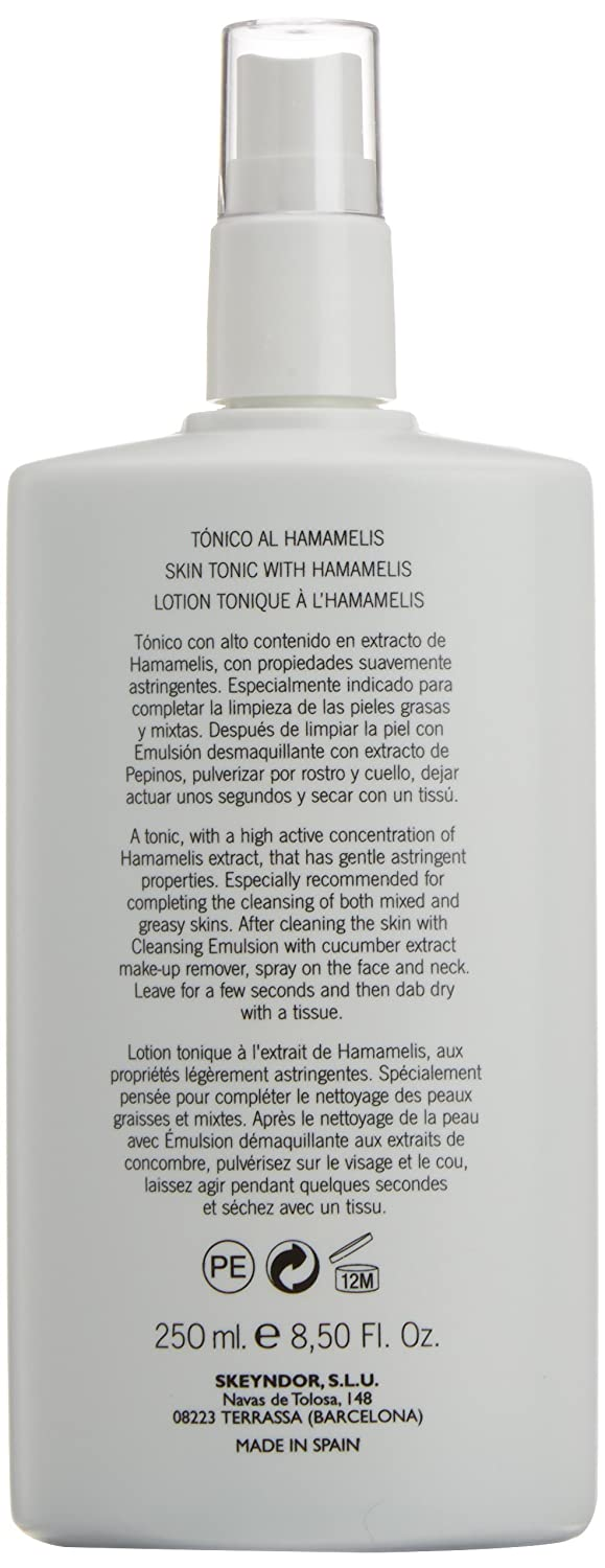 Amazon.com: skeyndor – Tonic a Hamamelis. 250 ml: Beauty