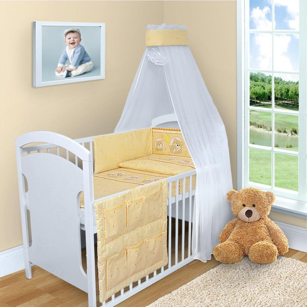 5 PCS 120x60 140x70 cm BABY BEDDING SET QUILT DUVET COVER PILLOW CASE BUMPER FOR COT STRAIGHT To fit cot 120x60 cm, Pink