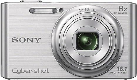 Sony DSC-W730S - Cámara compacta de 16.1 MP (Pantalla de 2.7 ...