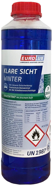 EUROLUB KLARE SICHT WINTER KONZENTRAT, 1 Liter EUROLUB GmbH 803001