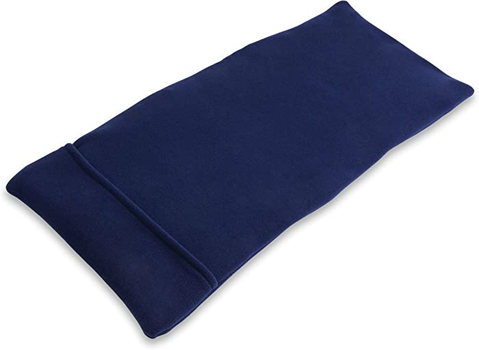 Sunny Bay XL Body Heating Wrap, Personal, Reusable, Hot & Cold Compress, Washable Cover, Heat Therapy Pad for Sore Neck, Back & Shoulder Muscle Pain Relief – Non-Electric, Midnight Blue