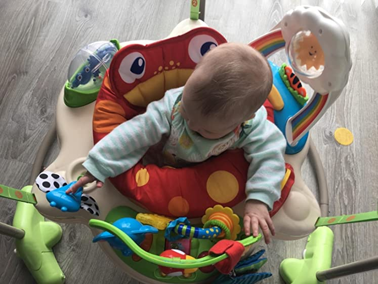 Fisher-Price Rainforest Jumperoo Jumping Junkie