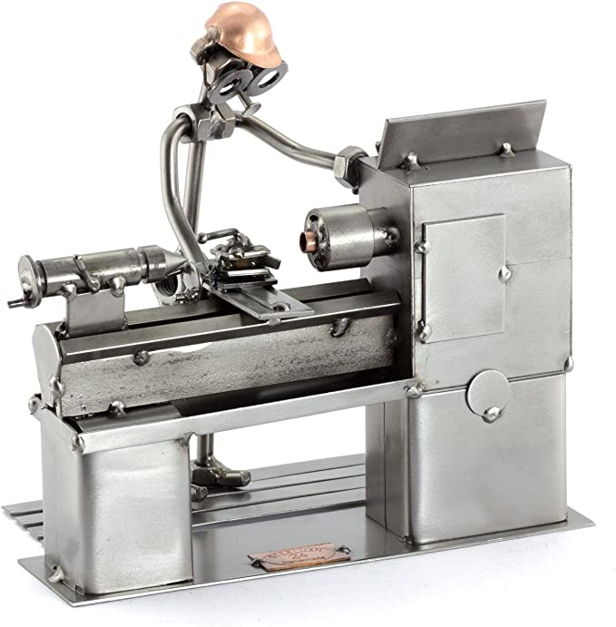 Steelman24 I Tornero I Made in Germany I Idea para Regalo I Figura ...