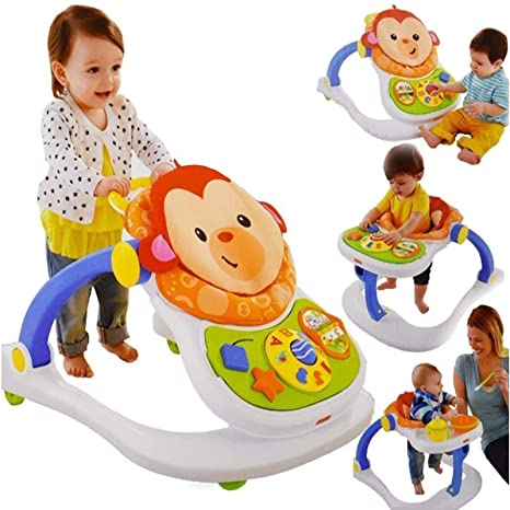 Fisher Price Monkey Entertainer - Silla de juguete para bebé ...